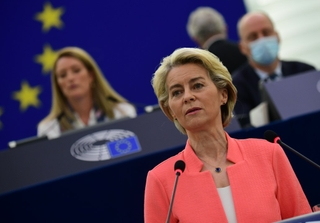 Ursula von der Leyen, State of the Union 2021. Photo: Dati Bendo / European Union