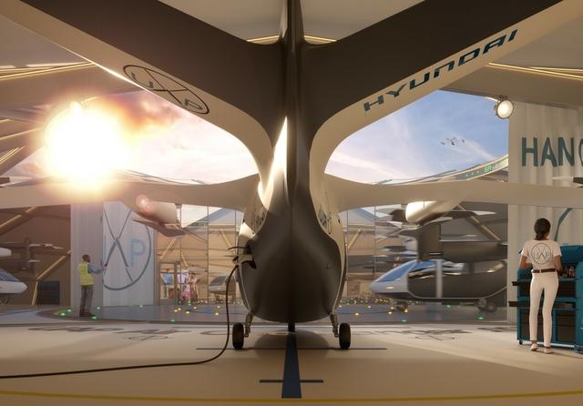 Urban Air Port Hanger
