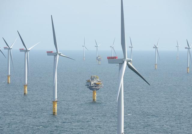 Dogger Bank Wind Farm. Credit: Equinor
