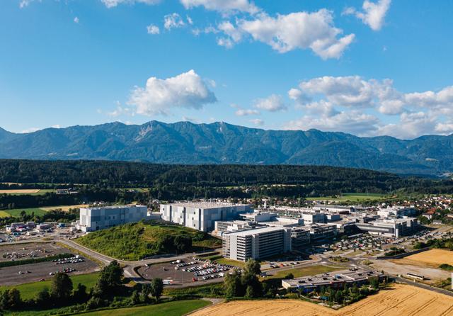 Infineon's Villach chip plant. Credit: Infineon