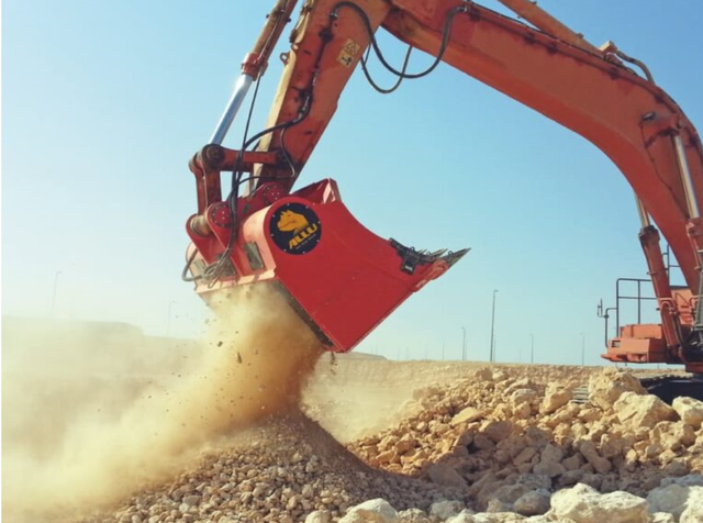 Allu mining equipment. Credit: Allu Group Oy