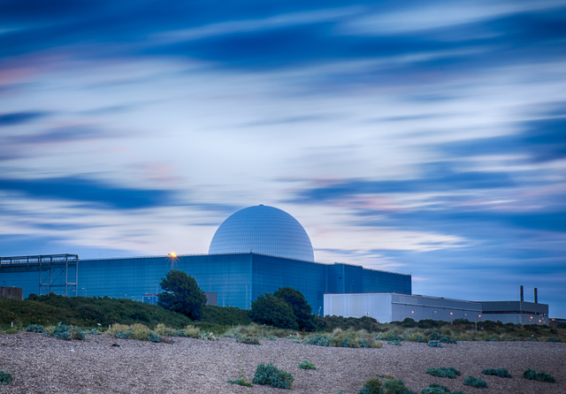 Sizewell B nuclear plant. Credit: Phil Silverman / Shutterstock