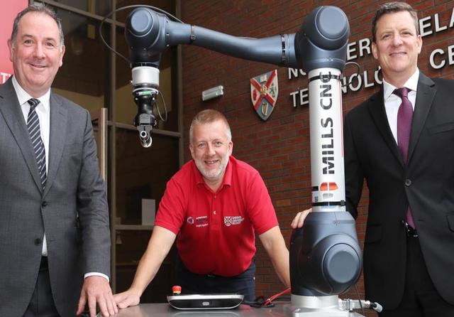 Queen's University Belfast digital testbed. Credit: Queen's University Belfast