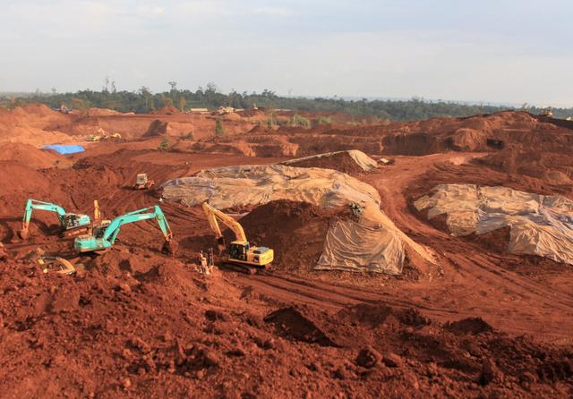 Nickel mining, Indonesia. Credit: KAISARMUDA / Shutterstock