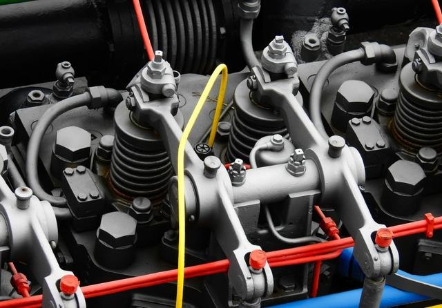 Diesel engine. Licence: CC0