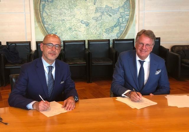 Italvolt & ABB partner. Photo: Italvolt